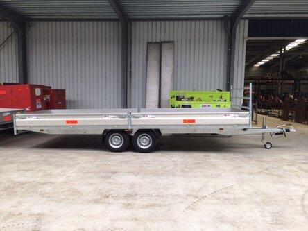 Aanhangwagen 2,7 t  605 x 200cm 123