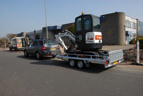Graafmachine 3500 kg
